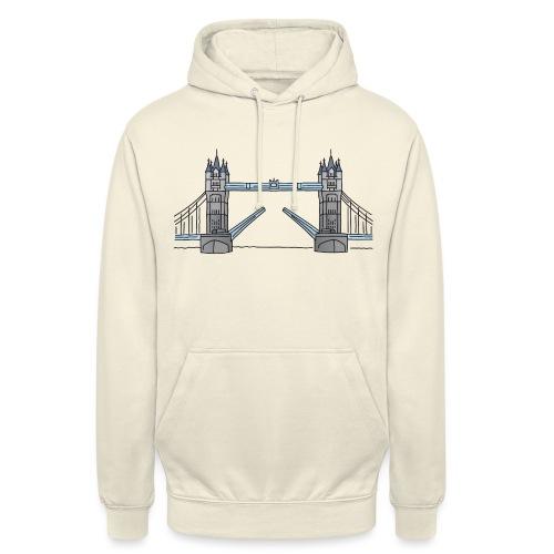 Tower Bridge in London c - Unisex Hoodie