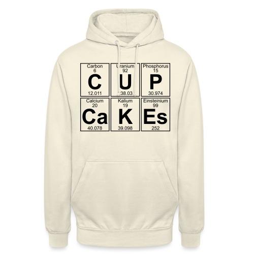 C-U-P-Ca-K-Es (cupcakes) - Full - Unisex Hoodie