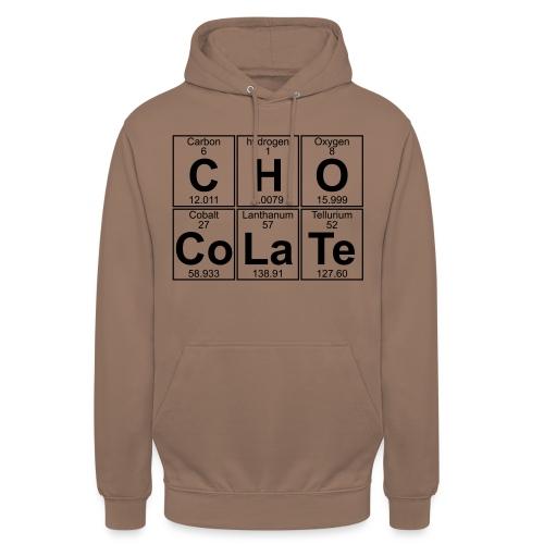 C-H-O-Co-La-Te (chocolate) - Full - Unisex Hoodie