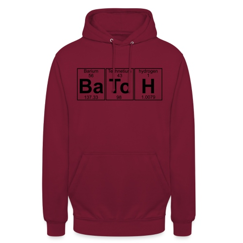 Ba-Tc-H (batch) - Full - Unisex Hoodie
