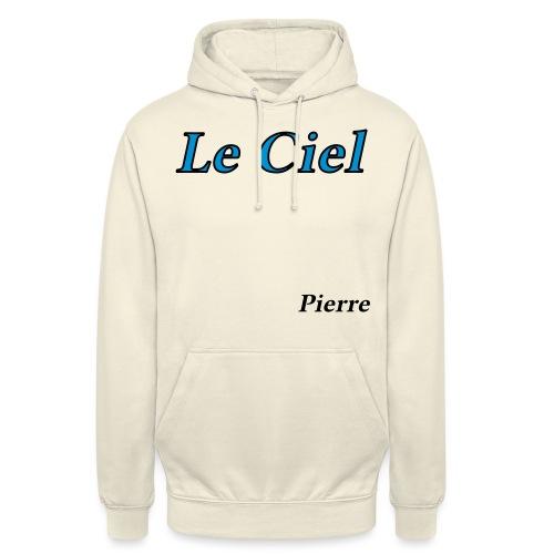 Poème Le Ciel par Pierre - Sweat-shirt à capuche unisexe