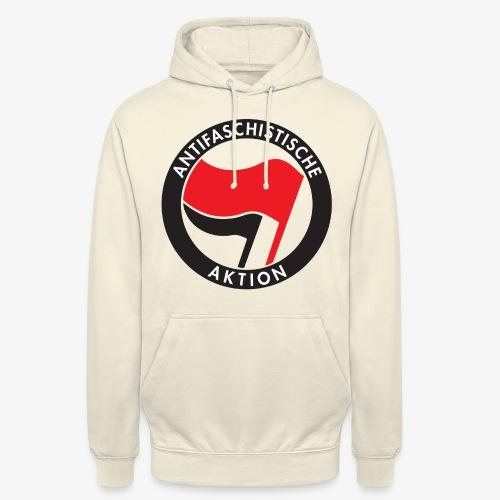 Atnifaschistische Action - Antifa Logo - Unisex Hoodie