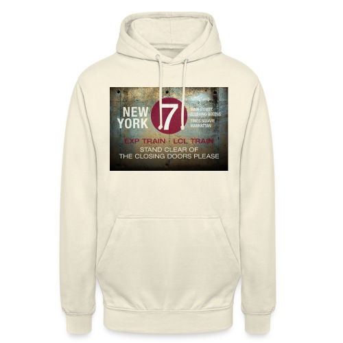 NYC subway stand clear of the closing doors please - Unisex Hoodie