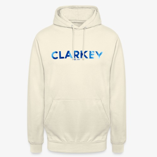 Clarkey Text1 png - Unisex Hoodie