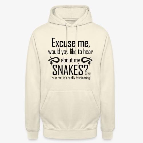 "Excuse me Snakes II - Huppari ""unisex"""