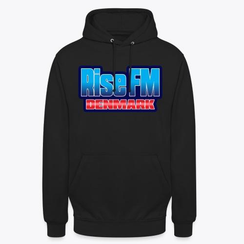 Rise FM Denmark Text Only Logo - Hættetrøje unisex