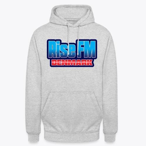 Rise FM Denmark Text Only Logo - Unisex Hoodie