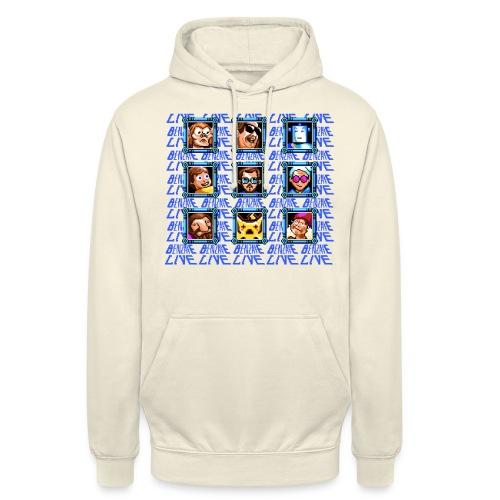 Tshirt4000 png - Sweat-shirt à capuche unisexe