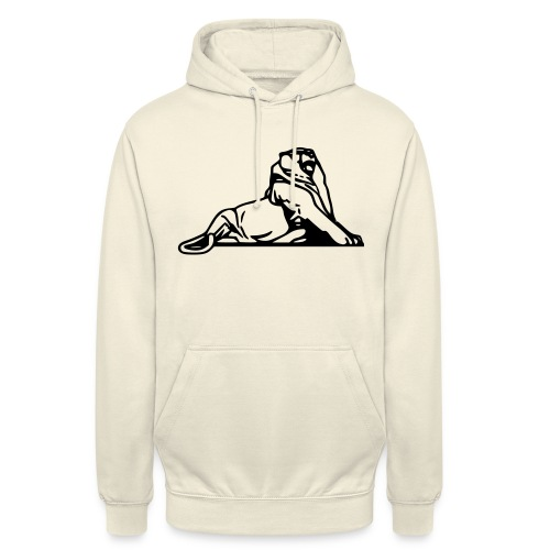 Lion de Belfort noir - Sweat-shirt à capuche unisexe