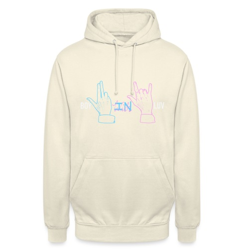 Boy In With Love Color V&JK - Unisex Hoodie