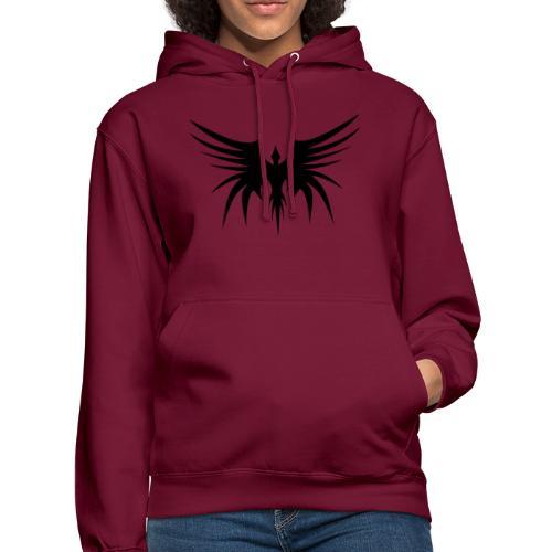 Phoenix Noir - Sweat-shirt à capuche unisexe