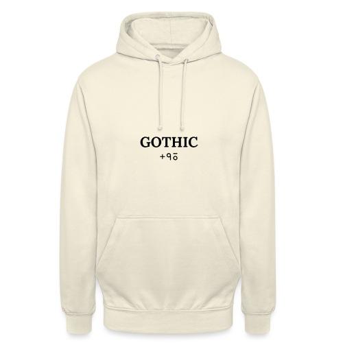 gotHIC/96 - Sudadera con capucha unisex