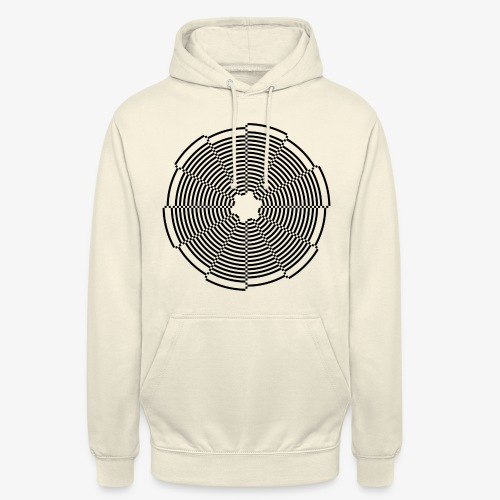 Abstract Circle - Unisex Hoodie