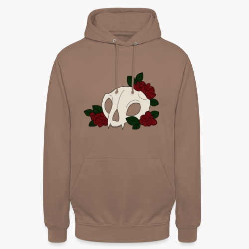 CoqueliCat - Sweat-shirt à capuche unisexe