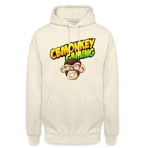 CBMonkey Logo fw png - Unisex Hoodie