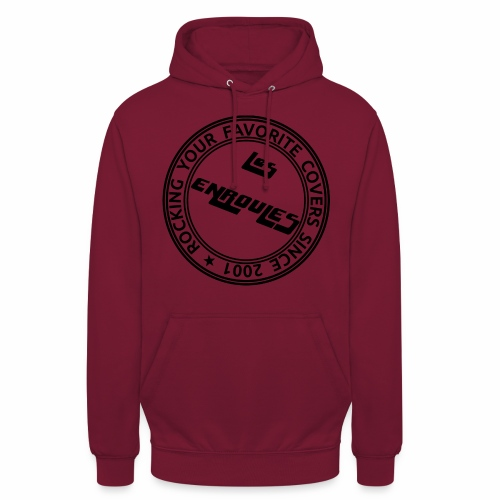 Badge - Sweat-shirt à capuche unisexe