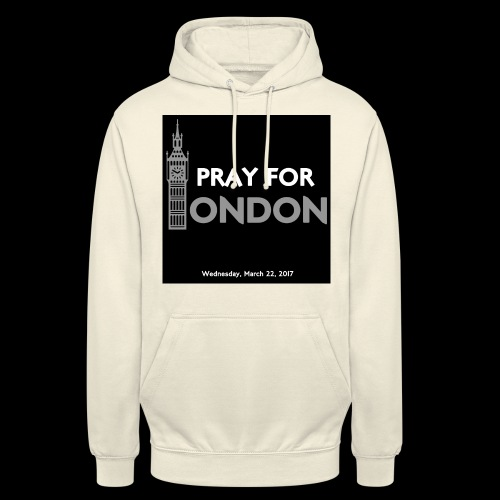 PRAY FOR LONDON - Sweat-shirt à capuche unisexe
