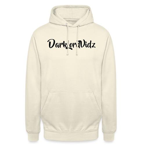 DarklordVidz Black Logo - Unisex Hoodie