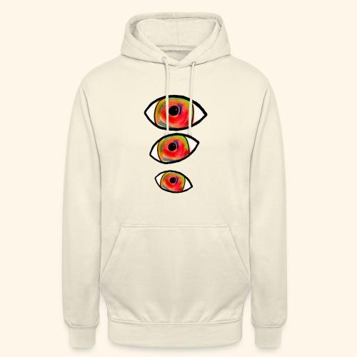 trompe L'oeil_Pastel - Sweat-shirt à capuche unisexe