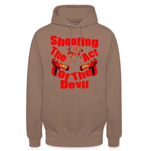 Shooting The Act Of Devil - Sweat-shirt à capuche unisexe