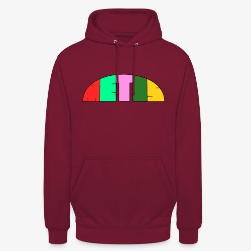 Metis rainbow logo - Unisex Hoodie
