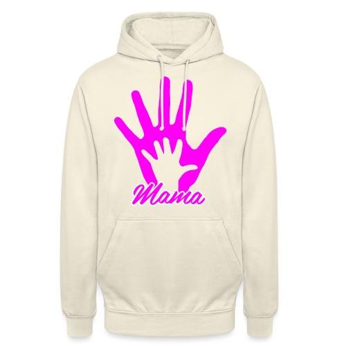 mamas hand - Sweat-shirt à capuche unisexe