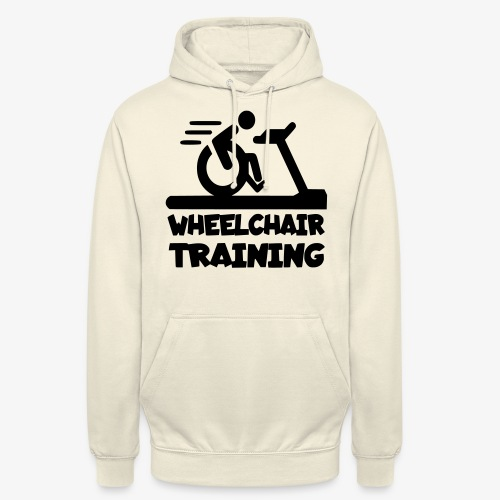 Rolstoel training 001 - Hoodie unisex