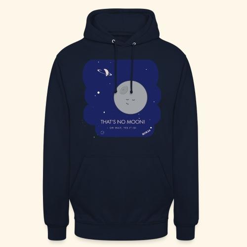 Mimas - Thats no moon - Luvtröja unisex