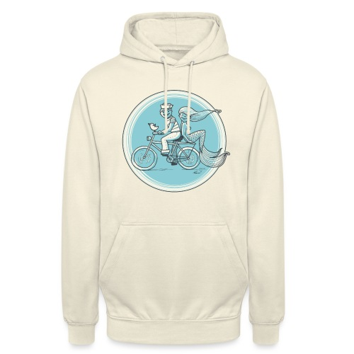 To the Beach - Backround - Unisex Hoodie