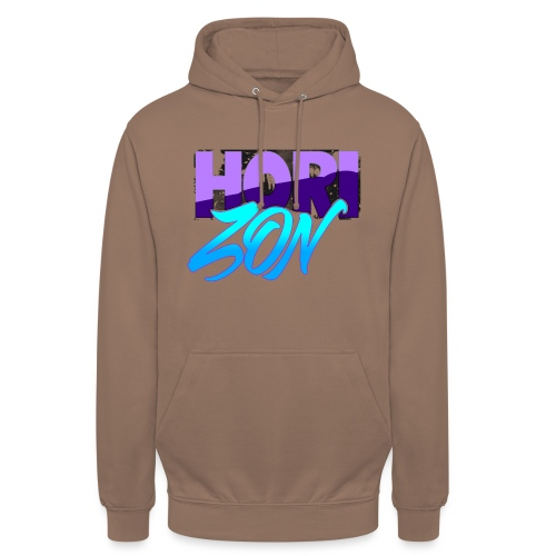 Horizon - Sweat-shirt à capuche unisexe
