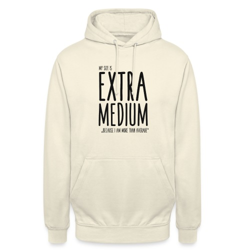 EXTRAmedium - Sweat-shirt à capuche unisexe