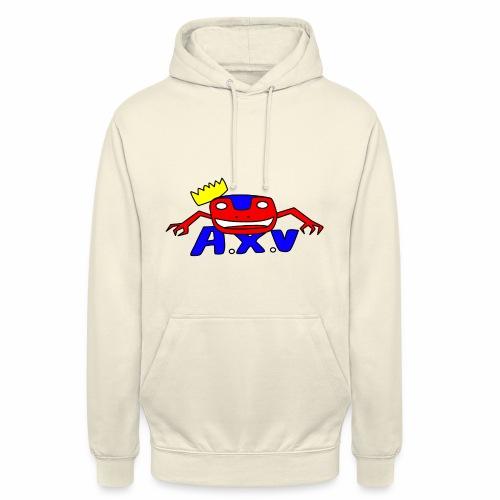 Frog world - Sweat-shirt à capuche unisexe