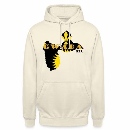GUADELOUPE - Sweat-shirt à capuche unisexe