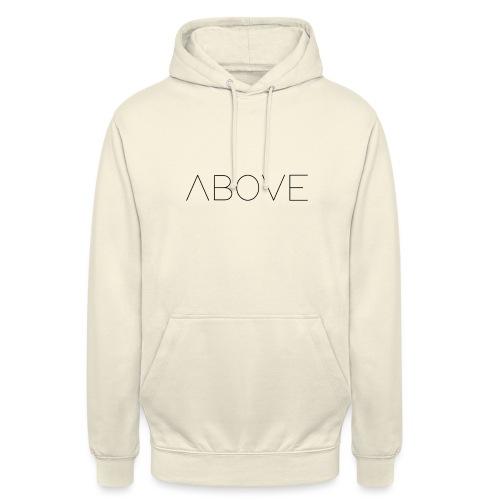 Above - Sweat-shirt à capuche unisexe
