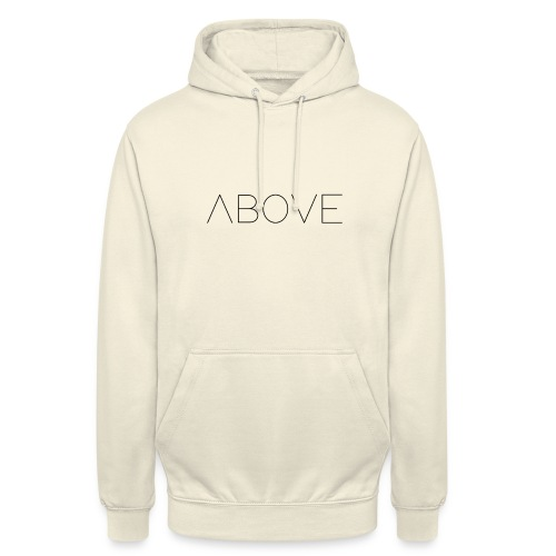 Above - Sweat-shirt à capuche unisexe