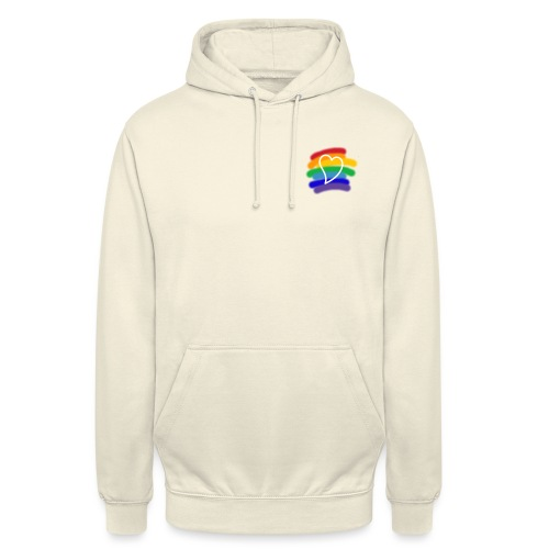 Love color - Sudadera con capucha unisex