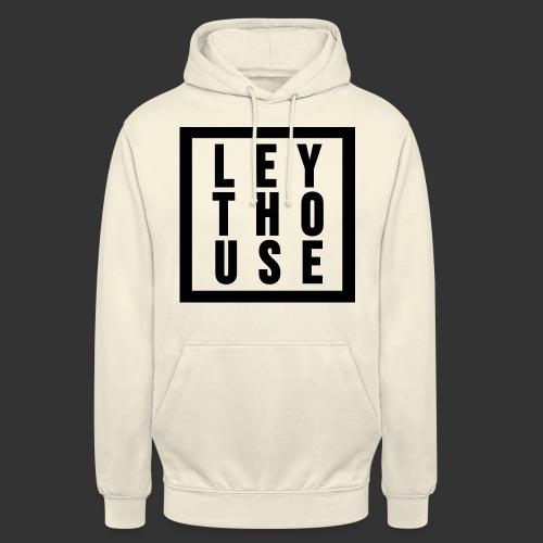 LEYTHOUSE Square black - Unisex Hoodie