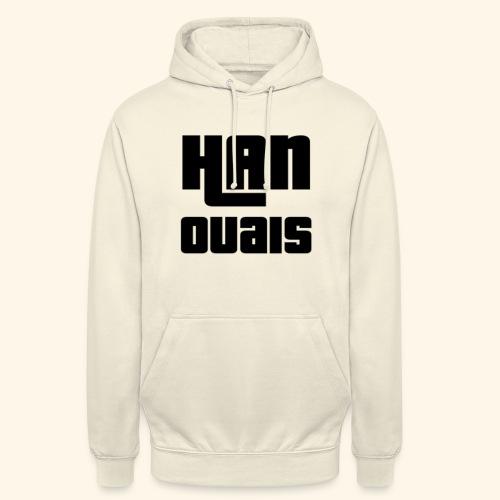 Han Ouais GTA noir - Sweat-shirt à capuche unisexe