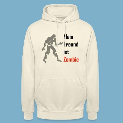 Mein Freund ist Zombie - Unisex Hoodie