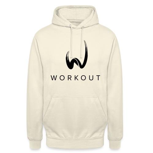 Workout mit Url - Unisex Hoodie