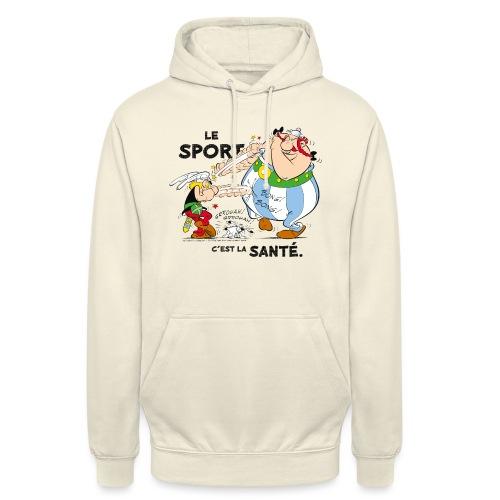 Astérix et Obélix - Le sport c'est la santé - Sweat-shirt à capuche unisexe