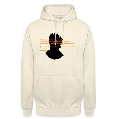 geronimo 2 - Sweat-shirt à capuche unisexe