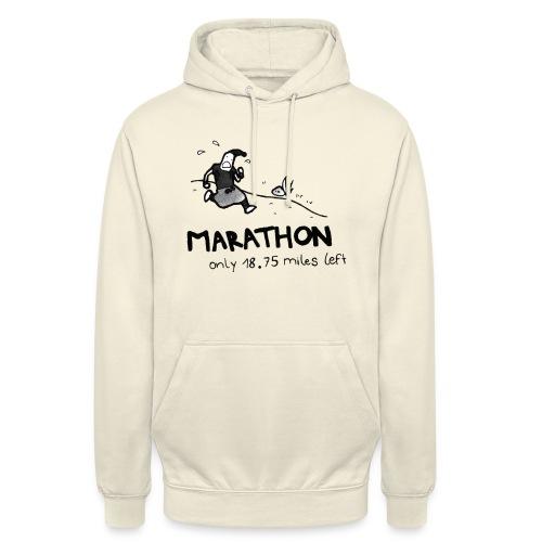 marathon-png - Bluza z kapturem typu unisex