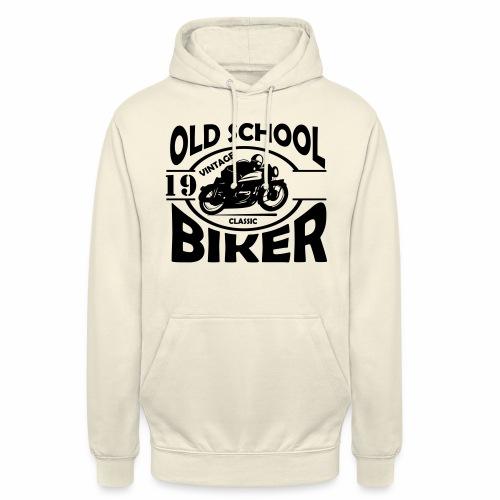 Old School Biker (customise the year) - Unisex Hoodie