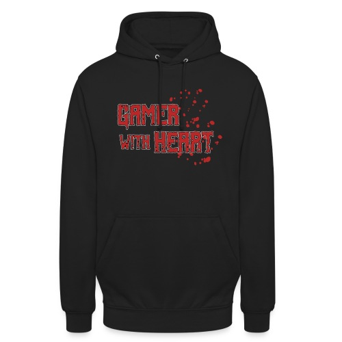 Gamer with heart - Unisex Hoodie