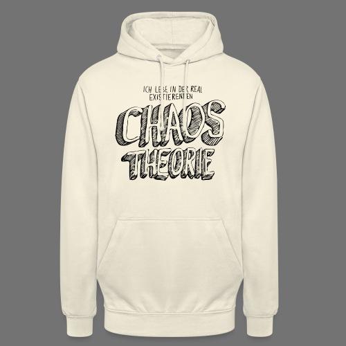 "Chaos Theory (musta) - Huppari ""unisex"""