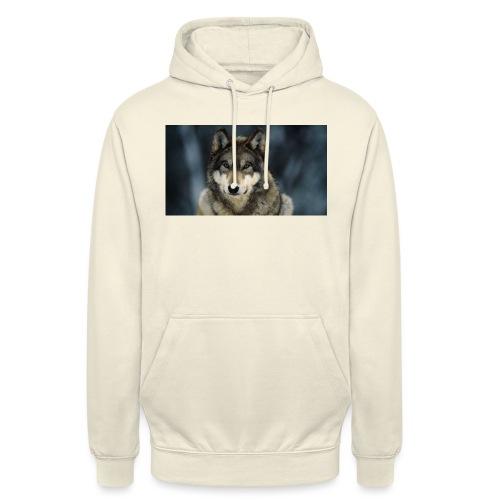 wolf shirt kids - Hoodie unisex