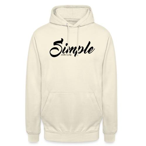 Simple: Clothing Design - Unisex Hoodie