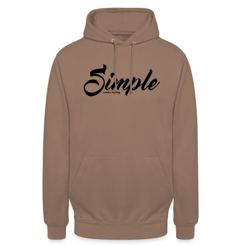 Simple: Clothing Design - Unisex Hoodie
