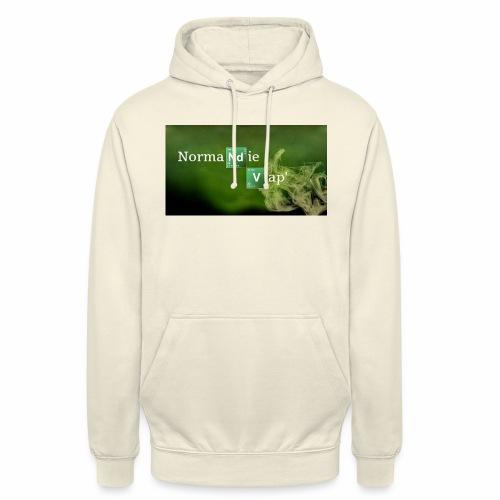 Normandie Vap' - Sweat-shirt à capuche unisexe